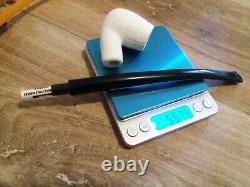 1A Medium Block Meerschaum Pfeife pipe Lesepfeife 9mm Akryl Meerschaumpfeife