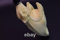 Birth Of Dragon Claw Pipe By Kenan-new-block Meerschaum Handmade W Case#1349