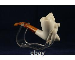Naked Lady Pipe, Erotic Woman, Cusomized Unsmoked Block Meerschaum Pipe