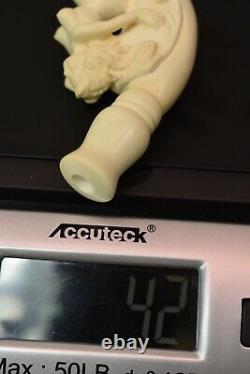 Nude Lady Cigarette Holder By CEVHER Block Meerschaum-NEW W CASE#1379