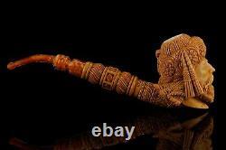 Ottoman King/pasha Pipe By Erdogan EGE Handmade Block Meerschaum-NEW W CASE#1600