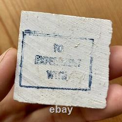 Rare! Peterson's Meerschaum Block Karvit Estate Pipe Carve Yourself Kit