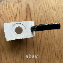 Rare! UNSMOKED Peterson's Meerschaum Block Karvit Estate Pipe Carve Yourself