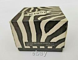 Superb! Rare! Unsmoked! African Block Meerschaum Cobra Table Pipe Estate Pipe