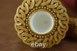 TEKIN Ornate Calabash Pipe BLOCK MEERSCHAUM-NEW-HAND CARVED W Case&Tamper#226