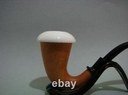 (not A Gourd) Small Size Sherlock Holmes Calabash Block Meerschaum Bowl Tobacco